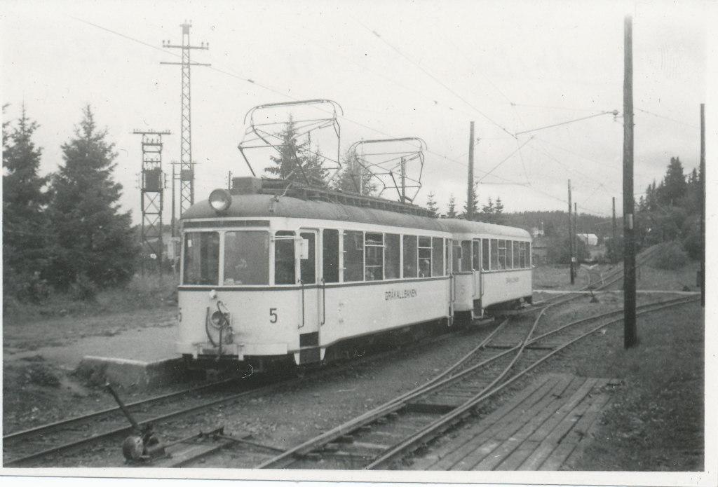 GB 5 og 55 på Munkvoll 4 aug 1949 foto Lennart Welander