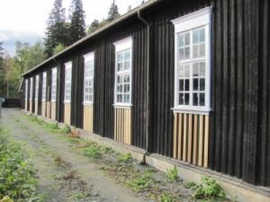 Gammelhallen har fått en liten ansiktsløftning. (Foto: Rune Kjenstad)